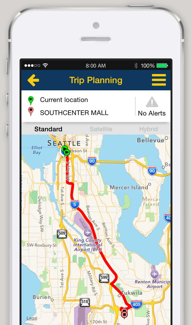 iPhone and Android App - Trip Planner - King County Metro ...