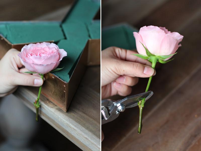 Diy Floral Letters Honestlyyum