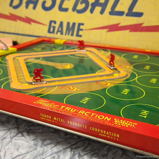 Tudor Tru-Action Electric Baseball Game
