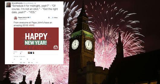 These brands all epically failed in wishing everyone a happy New Year