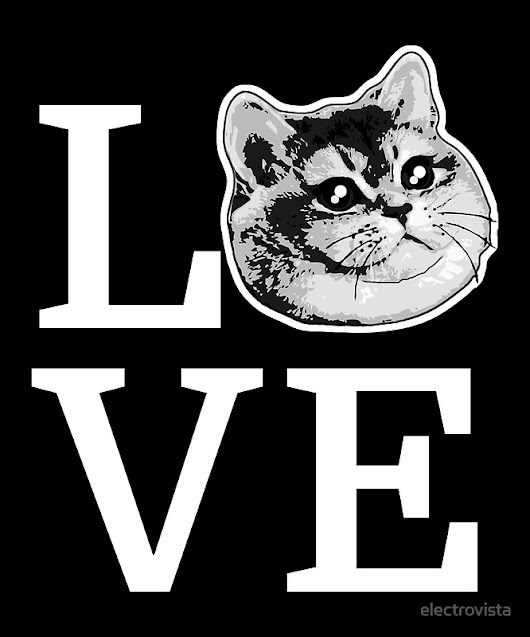 'Kitty Cat Love L.O.V.E.' by electrovista