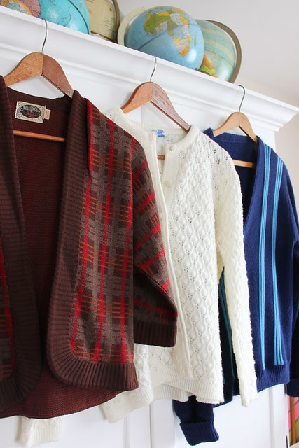 Thrifted Vintage Sweaters