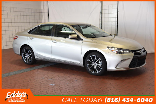 Pre-Owned 2015 Toyota Camry LE Sedan in Lee's Summit #P0231 | Eddy's Mazda of Lee's Summit