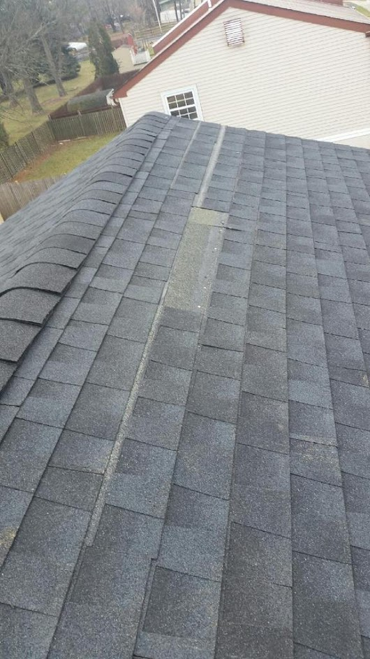 "Kulp Roofing Inc  on Twitter: ""Just another bad roof install we inspected. #hackathon   #GAF #rooflife #roofculture    """