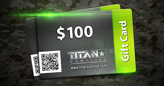 TITAN GIFT CARD GIVEAWAY | TITAN Survival