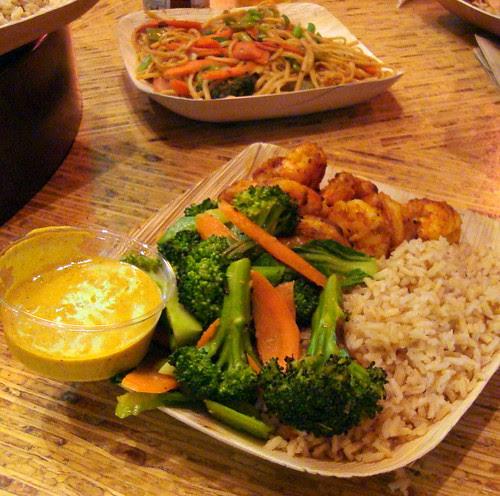Goa Shrimp w Brown Rice