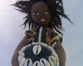 Handmade ooak African Doll 16inches