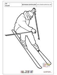 Kayak Boyama Sayfaları