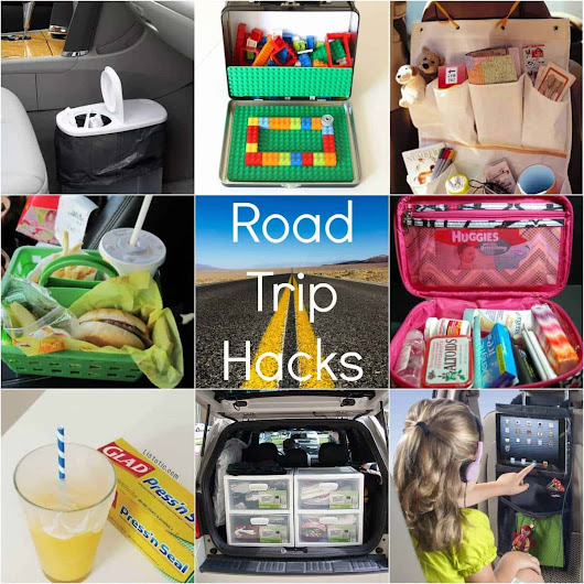 Road Trip Hacks for Kids - Princess Pinky Girl
