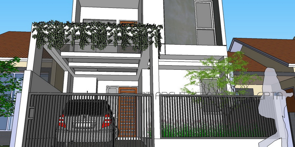 Renovasi dan pengembangan rumah type 36_72 – depok view 8