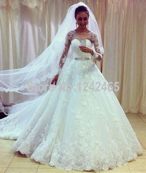 Find More Wedding Dresses Information about White Puffy