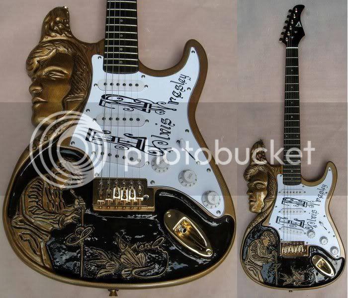 Elvis Presley Tribute Strat
