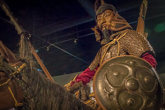 Genghis Khan at the Reagan Library – Neighborhood Travels
