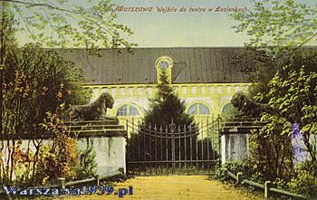 Stara Pomarańczarnia Wielka Oranżeria Fundacja Warszawa 1939