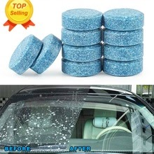 10x Car wiper tablet Window Glass Cleaning Cleaner Accessories