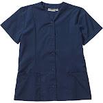 Edwards Garment 7889 Snap Front Tunic - Vintage Navy