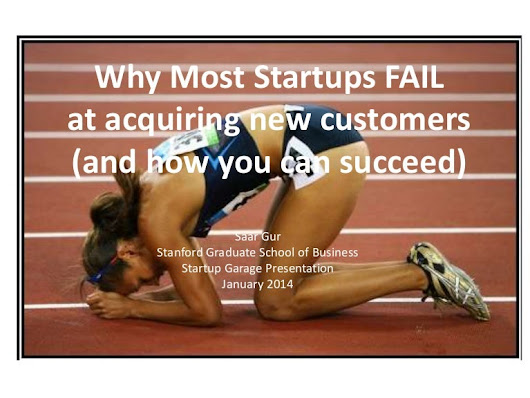 Why Most Startups Fail at Acquiring New Customers (and how you can ...