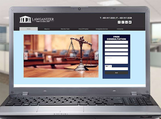 Corporate Website for Lawganizer Canada - Pilo Campaner