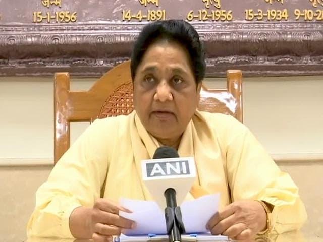 मायावती की अपील, दल से ऊपर उठकर दलितों-ब्राह्मणों-मुस्लिमों की हत्याओं के खिलाफ आवाज उठाएं MLA