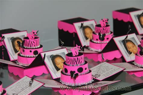 Hot Pink & Zebra Print Exploding Box Invitations   Jinkys