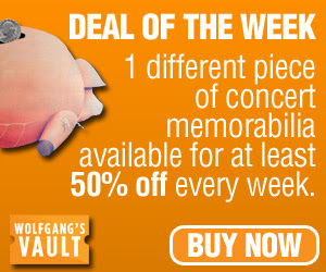 Wolfgang's Vault - Deal of the Week