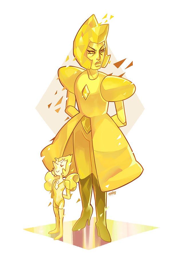 Banana mom and her brat child.