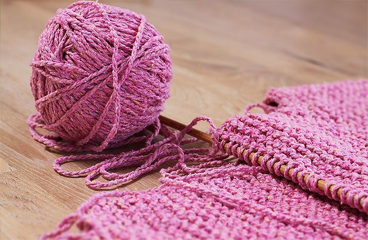 Pink Knitting