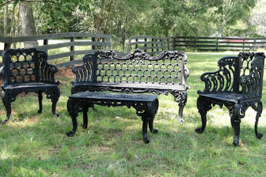 Outdoor Benches - Five Benches To Use In Your Yard And Garden
