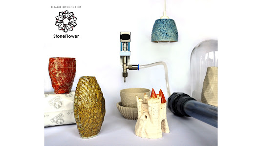 StoneFlower: Ceramic 3D Printing KIT