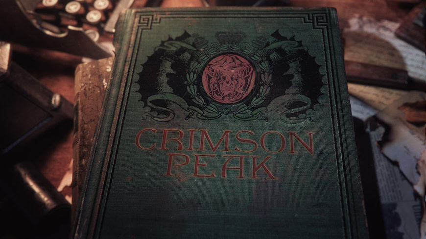 Image result for crimson peak title card