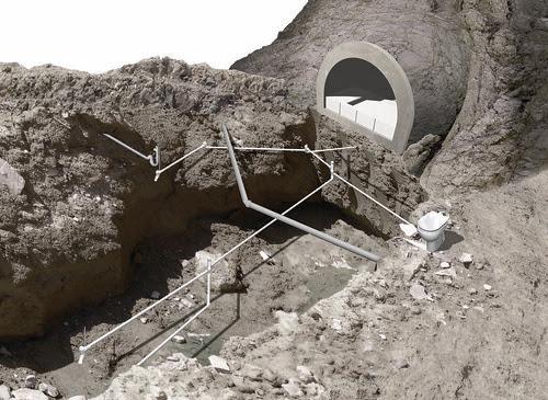 concrete beds land preparation 2