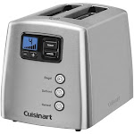 Cuisinart - Touch to Toast Leverless 2-Slice Toaster CPT-420 - Brushed Stainless Steel
