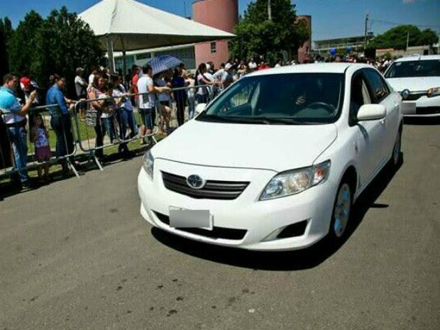 Carro foi adquirido em 2011 (Foto: Foto de Arquivo / Prefeitura de Campina Grande do Sul)