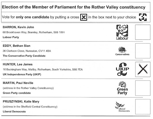 Bethan Eddy Conservative/Tory Rother Valley