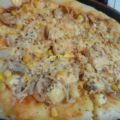 Pizza Hu* Happy Call Nendanggg Tanpa Oven