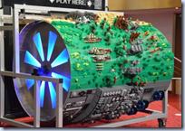 Lego barrel organ