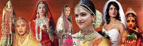 Iconic Indian Bollywood Bridal Dresses   Types of Indian