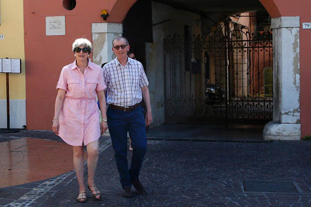 Theresa May and husband Philip go on holiday without ...