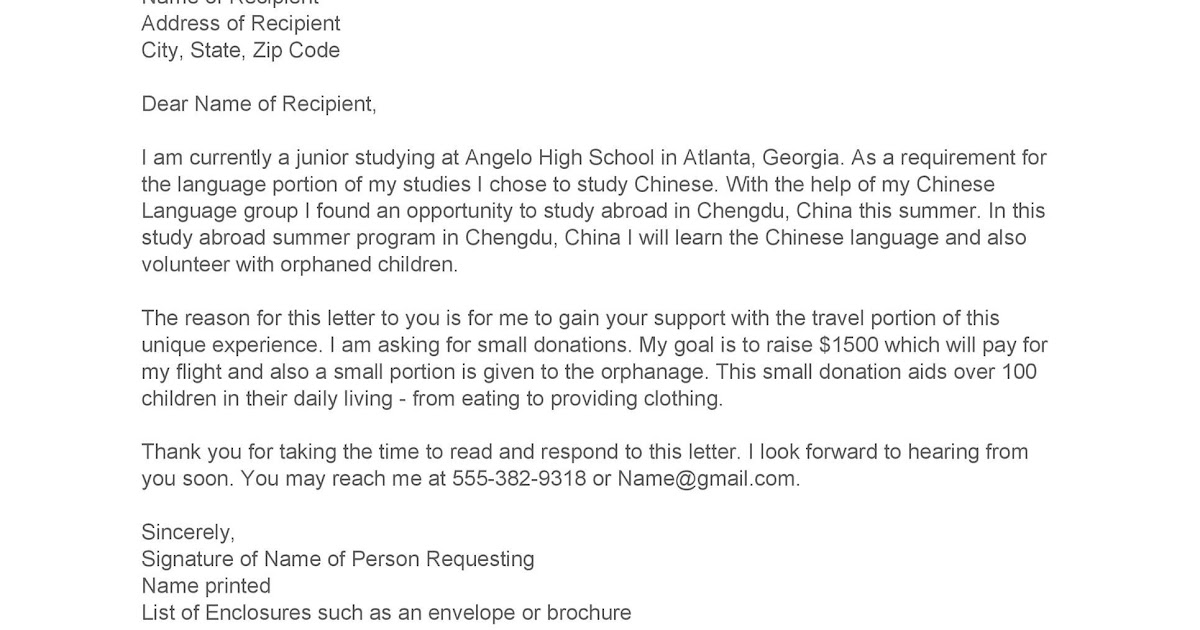 64 SAMPLE LETTER REQUEST FOR DONATION OF FOOD, OF FOR REQUEST SAMPLE