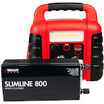 Wagan 800W Slimline Power Inverter with Jumpboost V8 Air