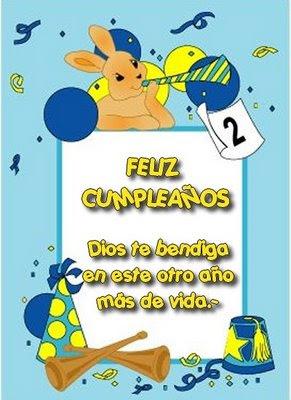 Feliz cumpleaños cristianos