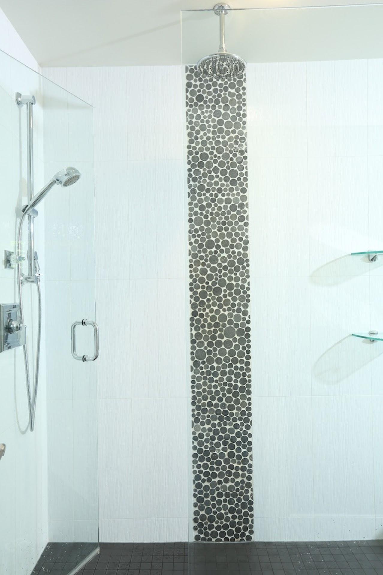 SetWidth1278 Sinclair North Shore Custom Built Ensuite Shower with Custom Tile Work Rain Shower