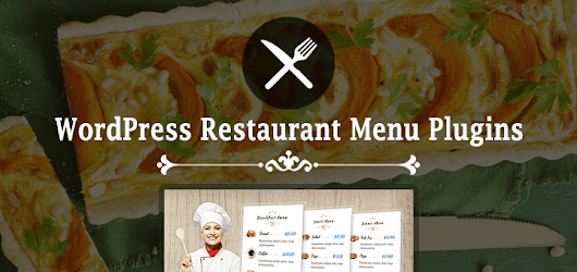Best Free WordPress Restaurant Menu Plugins - SmallEnvelop