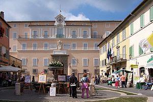 {{de|1=Castel Gandolfo, Sommerresidenz des Pap...