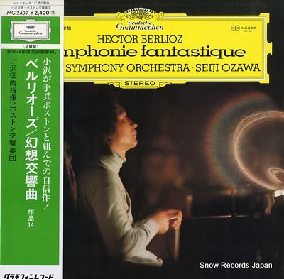 OZAWA, SEIJI berlioz; symphonie fantastique