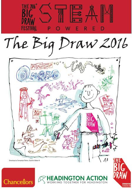 Chancellors in Headington Supports The Big Draw - Chancellors