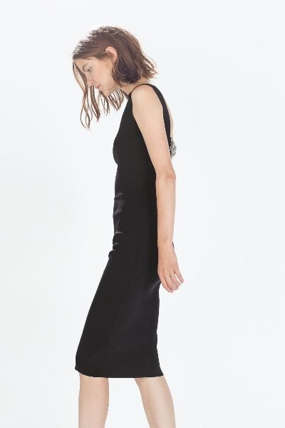 Zara Long Dress with Diamante Back