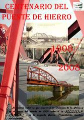 Cartel Centenario del Puente de Hierro 1908-2008