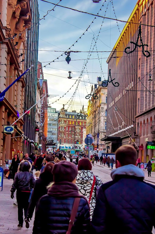 Christmas Lights Christmas Decorations Helsinki Aleksanterinkatu Finland City View  City Life CityWalk Walk This Way Helsinki,finland