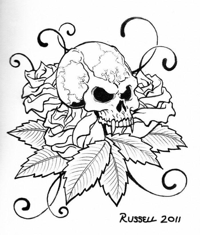 4800 Skull Coloring Book Online HD